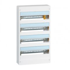 Coffret Drivia 18 modules - 4 rangées - IP30 - IK05 - Blanc RAL 9003
