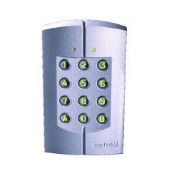 Clavier codé Tercode 1060 - monobloc antivandale intérieur/extérieur - Argent