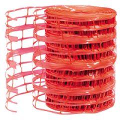 Grillage avertisseur tous diamètres - larg. 300 m/long. 100 m - rouge RAL 2002