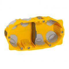Boîte multipostes Prog. Ecobatibox - 2 postes - 4/5 modules - prof. 50 mm