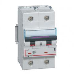 Disj magnéto-therm DX³ - 2P - 32 A - 50 kA - courbe B - 3M