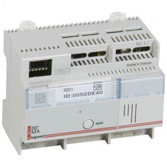 Actionneur/variateur avec sortie 1/10 V MyHOME BUS - 6 modules
