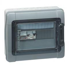 Coffret Plexo³ - IP65 - pré-câblé - 230 V~ - pour installation photovoltaïque