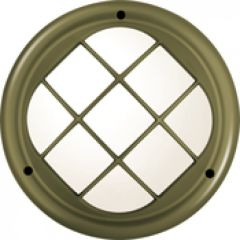 Hublot Koreo Cub rond grille taille 1 bronze G24Q2 / 18W