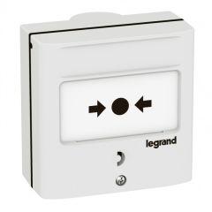 Dispositif de commande pour coupure - 1 contact - couleur blanc