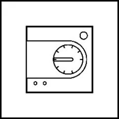 Thermostat sonde Art d'Arnould Epure MyHOME BUS - acier satin