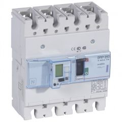 Disj puissance DPX³ 250 - électronique à unité de mesure - 50 kA - 4P - 250 A