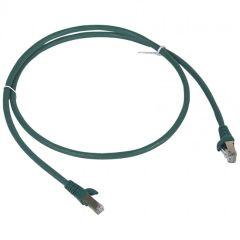 Cordon de brassage RJ 45 - Cat.6 - F/UTP écranté - L. 1 m - LSOH - vert - LCS²