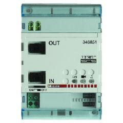 Module d?extension d?installation BUS 2 fils - 4 modules DIN