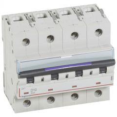 Disj magnéto-therm DX³ - 4P - 10 A - 50 kA - courbe D - 6M