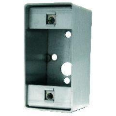 Boîtier saillie inox pour bouton-poussoir pré-câblé réf. 004240
