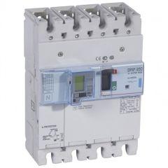 Disj puissance DPX³ 250 - électronique diff - 70 kA - 4P - 250 A