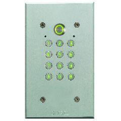 Clavier codé Tercode 2050 N - Argent - sans emplacement Vigik®