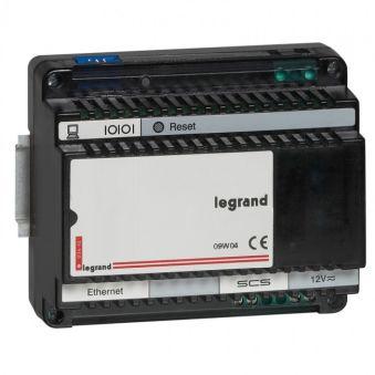 Gestionnaire de zone modulaire - ECO BUS/SCS gestion d'éclairage Mosaic - 6 mod