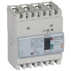 Disj puissance DPX³ 160 - magnéto-thermique - 25 kA - 4P - 125 A