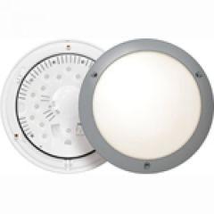 Hublot  Chartres Alu- IP55-IK09 -ON/OFF LED 4000 K-T2-Gris métal