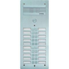 Platine de rue Série 300 audio - façade Alu 4 mm - 20 appels
