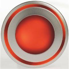 Luminaire Kalank mini LED frontal rouge / 0,6W