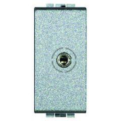 Connecteur jack femelle 3.5 mm Livinglight - A visser  - Tech - 1 module