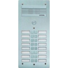 Platine de rue Série 300 audio - façade Alu 4 mm - 16 appels