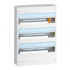 Coffret Drivia 18 modules - 3 rangées - IP30 - IK05 - Blanc RAL 9003