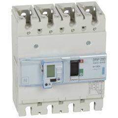 Disj puissance DPX³ 250 - électronique - 70 kA - 4P - 160 A