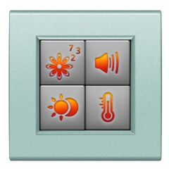 MyHOME screen 1,2'' Livinglight BUS - 4 fonctions au choix - tech