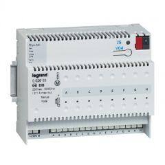 Interface modulaire BUS/KNX - contact sec - 8 entrées - 6 mod