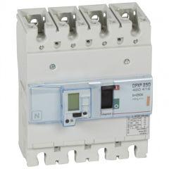 Disj puissance DPX³ 250 - électronique à unité de mesure - 25 kA - 4P - 250 A