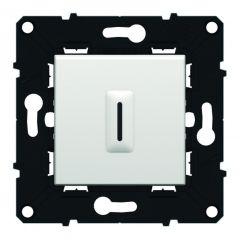 Interrupteur temporisé sans neutre Espace Evolution - 250 V~ - Blanc