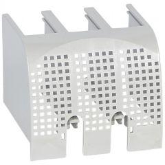Cache borne plombable DPX³ 160 3P - pour raccordement prises avant