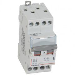 Inter-sectionneur de tête DX³-IS - vis/vis - 4P - 400 V~ - 32 A - 2 M