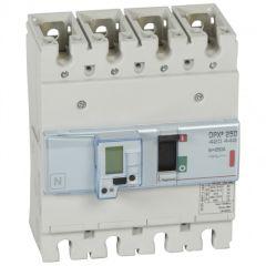 Disj puissance DPX³ 250 - électronique à unité de mesure - 36 kA - 4P - 250 A
