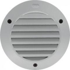 Luminaire Kalank rond avec grille taille 1 gris argent G24Q1 / 10W