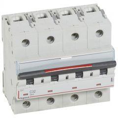 Disj magnéto-therm DX³ - 4P - 32 A - 36 kA - courbe C - 6M