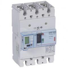 Disj puissance DPX³ 250 - électronique à unité de mesure - 36 kA - 3P - 100 A