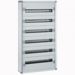 Coffret distribution métal XL³ 160 - tout modulaire - 6 rangées - 1050x575x147