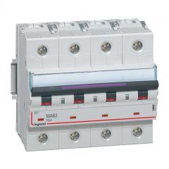 Disj magnétique seul DX³-MA - 4P - 63 A - 50 kA - courbe MA - 6M