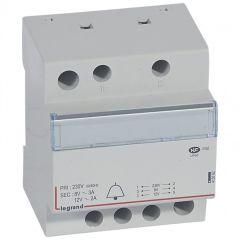 Transformateur pour sonnerie - 230 V / 12-8 V - 24 VA