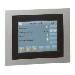 Commande filaire tactile 5,7'' BUS/KNX - Programme Mosaic