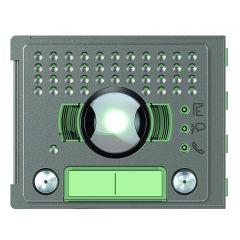 Façade Sfera Robur pour module électronique audio/vidéo 2 appels grand angle