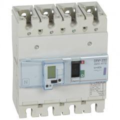 Disj puissance DPX³ 250 - électronique à unité de mesure - 50 kA - 4P - 40 A
