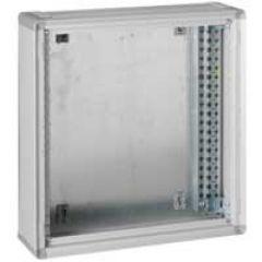 Coffret de distribution XL³ 400 - métal - H 750 - gris RAL 7035