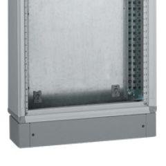 Socle XL³ 400 - pour gaine à câbles - H 100 mm