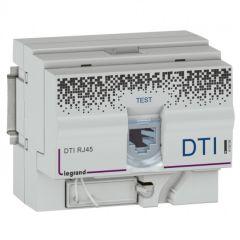 DTI format RJ 45 - pour coffret multimédia - format modulaire - 4,5 modules