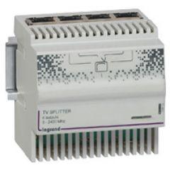 Répartiteur TV Hertzien TNT, satellite pour coffret Optimum manuel - 4 modules