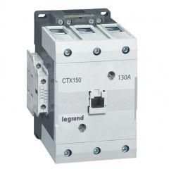 Contacteur de puissance CTX³ 150 - 3P - 130A - bornes à cage - 2NO+2NF - 24V=