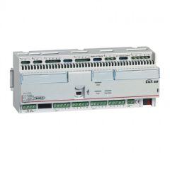 Contrôleur modulaire BUS/KNX - multi-applications -16 entrées/16 sorties -12 mod