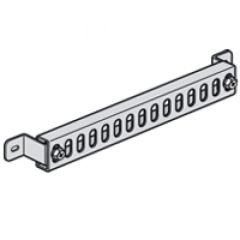 Support fixation de câbles XL³ 400 - pour coffrets et armoires