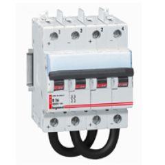 Disjoncteur DX - 4,5 kA - 800 V= - 10 A - 4 modules